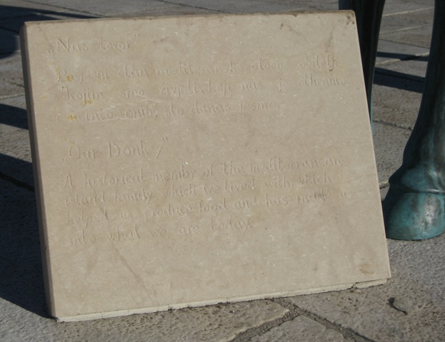 Donkey inscription