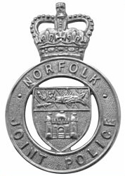 Norfolk Joint Police cap badge