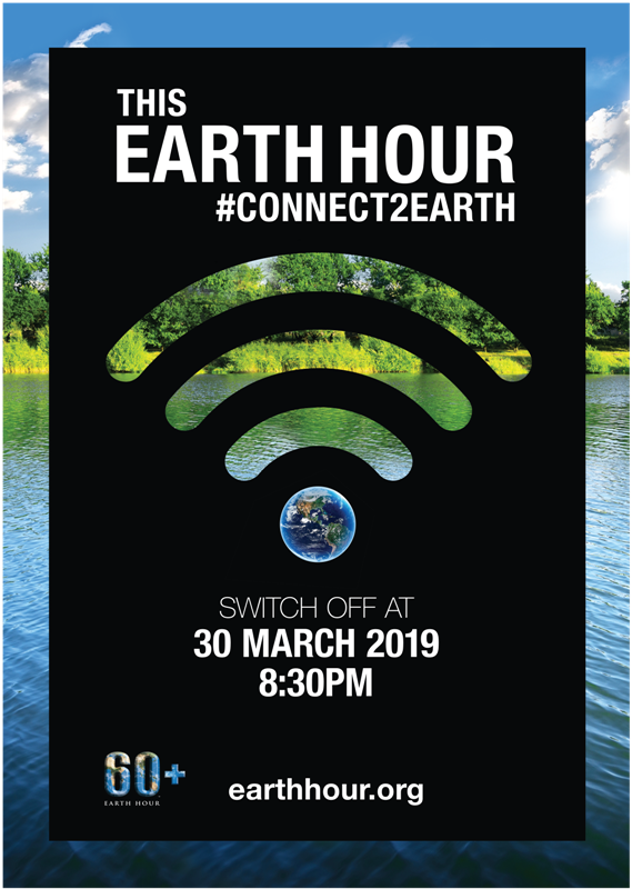 Earth hour roll up