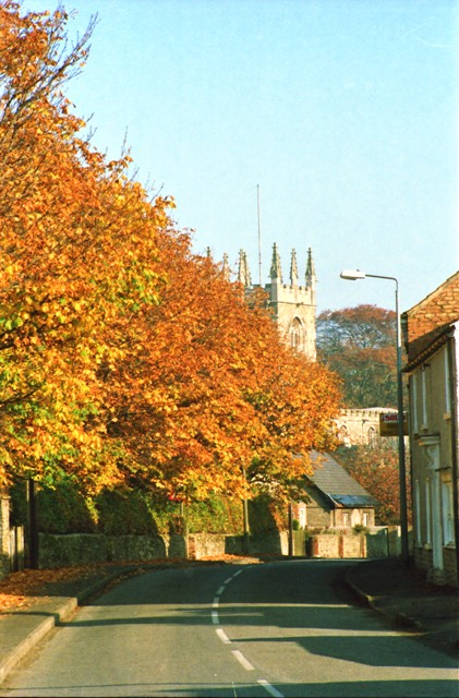 Autumn in Church Street 1981