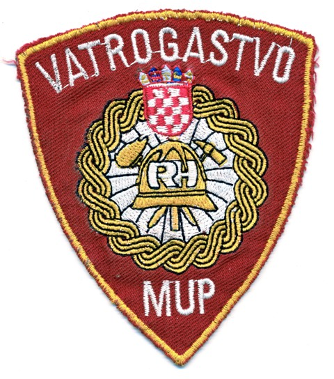 Full time Vatrogasci patch