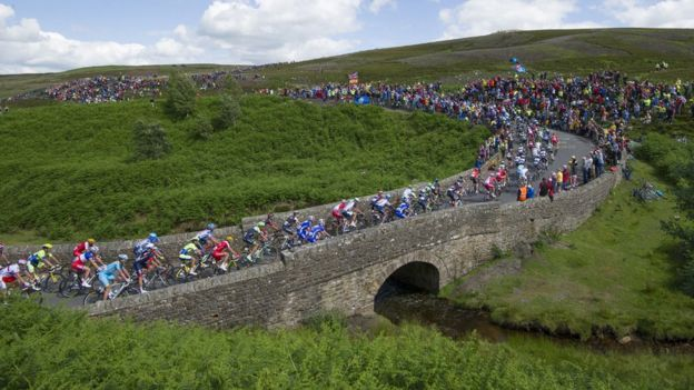 The Tour de France in Yorkshire