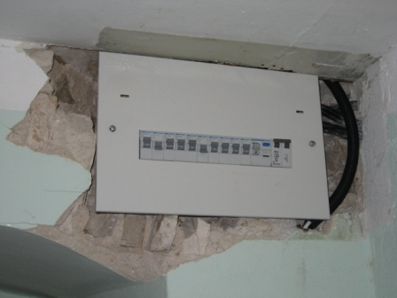 and a new Consumer Unit