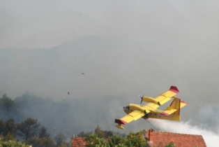 Airborne firefighting