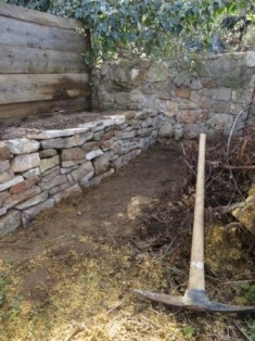 Extending the walling