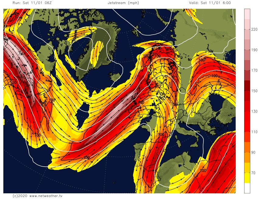 Saturday's Jetstream