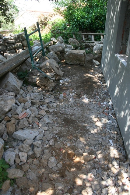 Builders rubble