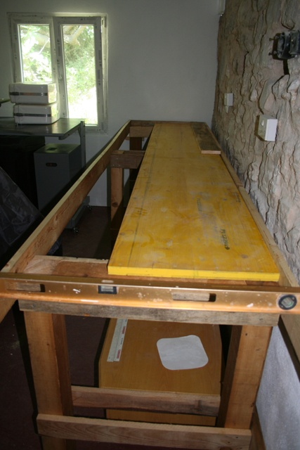 Worktop foundation boards